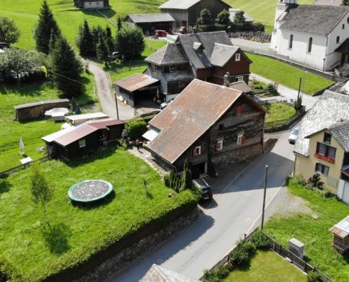 Bauernhaus in Weisstannen